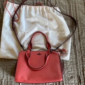 AUTHENTIC coach combination crossbody/small bag